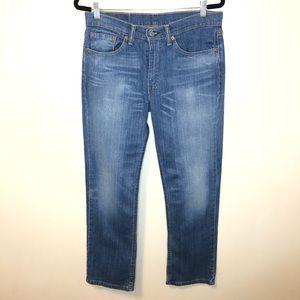 Men's Levi's straight 514 medium wash jeanw32 L30